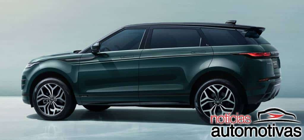 Range Rover Evoque L é para chinês e custa mais de R$ 300 mil