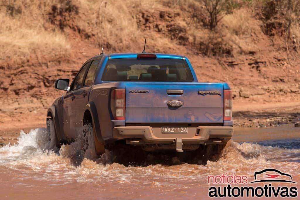 Ford Ranger Raptor é flagrada no interior paulista