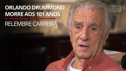 Orlando Drummond morre aos 101 anos; Relembre carreira