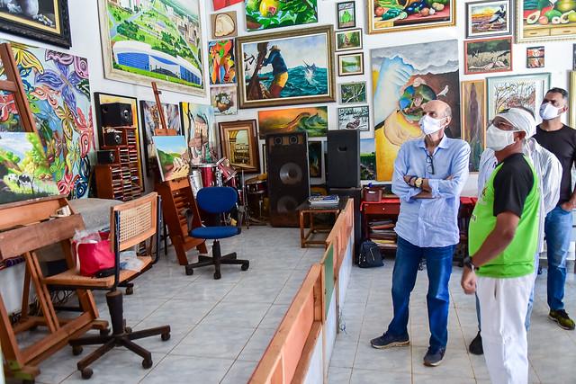 São Sebastião ganha galeria a céu aberto